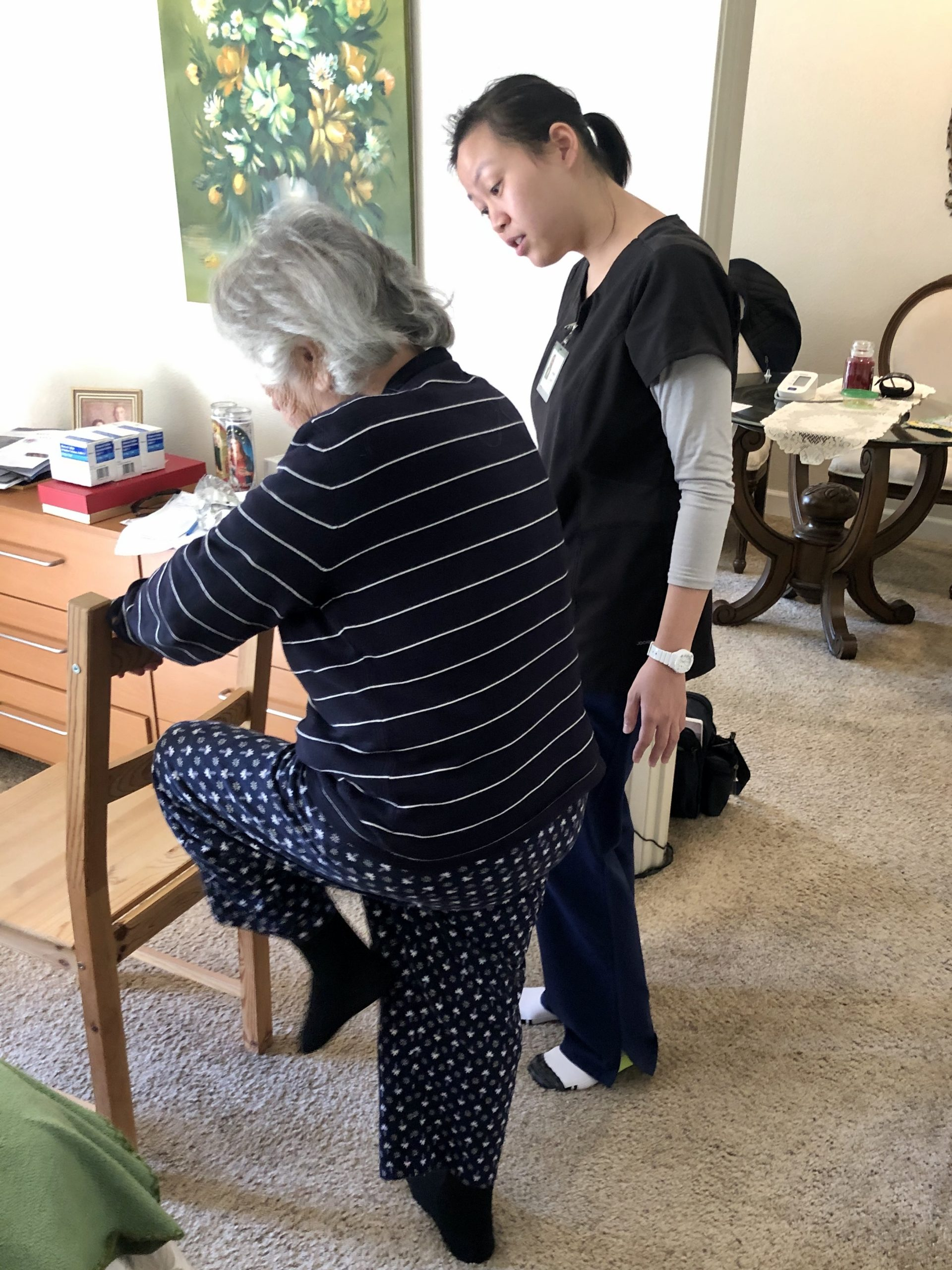 Improving Seniors' Strength and Balance