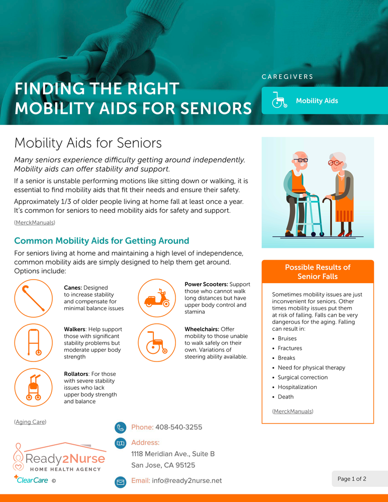 Finding the Right Mobility Aids for Seniors