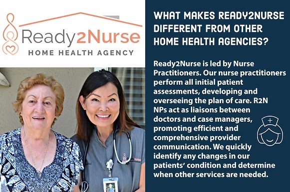 What makes Ready2Nurse different from other home health agencies?